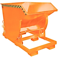 Kiepbak BKM 150, gelakt oranje