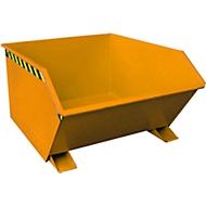 Kiepbak type GU, 1000 liter, oranje
