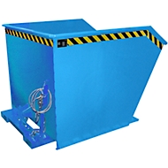 Kiepbak type GU, 1500 liter, blauw
