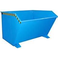 Kiepbak type GU, 2000 liter, blauw