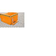Kiepbak type GU, 300 liter, oranje