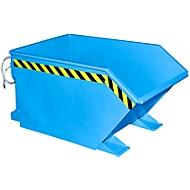 Kiepbak type GU, 500 liter, blauw