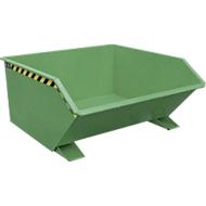 Kiepbak type GU, 750 liter, groen