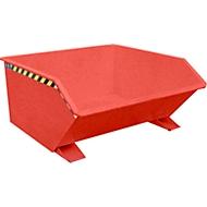 Kiepbak type GU, 750 liter, rood