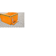 Kiepcontainer type GU, 300 liter, oranje