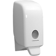 Kimberly-Clark zeepdispenser AQUARIUS, kunststof, inhoud 1 liter, afsluitbaar, wit