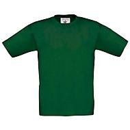 Kinder T-Shirt mit Werbeanbringung, Dunkelgrün, 152/164