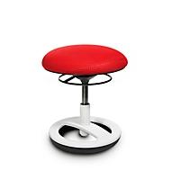 Kinderhocker TOPSTAR Sitness Bobby, f. bewegliches Sitzen, höhenverstellbar, TPU-Sohle, m. Design-Standfußring, neonrot