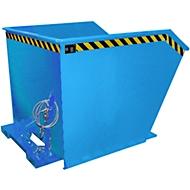 Kippbehälter Typ GU, 1500 Liter, blau
