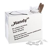 Kit complet de cerclage HANDY, avec feuillard et boucles autoblocantes