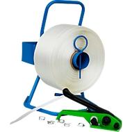 Kit de cerclage complet à feuillard polyester
