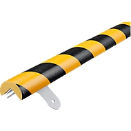 Kit de protection Mur type A - 1 m, jaune/noir