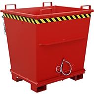 Klappbodenbehälter BKB 1000, rot