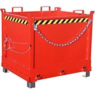 Klappbodenbehälter FB 1000, rot