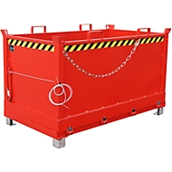 Klappbodenbehälter FB 1500, rot