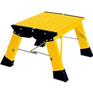 Klapptritt Treppy, 1 Stufe, gelb
