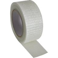 Klebeband für Gipsplatten, 50 mm x 30 m, selbstklebend, Glasfaser-Voile/Acrylemulsion, weiß