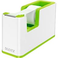 Klebefilmabroller Leitz WOW, Tischabroller, weiß/grün