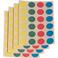 Klebepunkte, 4 Farben, 1000 Stück