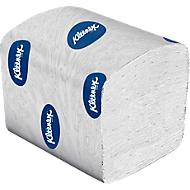 Kleenex® Premier toilettissues, gevouwen, wit, 4 Wikkels x 200 Vellen