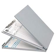 Klembord, DIN A4, aluminium, met houderdoos