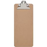 Klembord Maul MAULbill, A5-formaat, klemcapaciteit 15 mm, hout naturel, ook geschikt om op te hangen