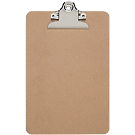 Klembord Maul MAULclassic, A5-formaat, klemcapaciteit 15 of 25 mm, hard vezelhout, ook geschikt om op te hangen