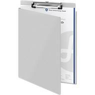 Klembord met beschermkap, voor A4-formaat, aluminium, met ophangoog