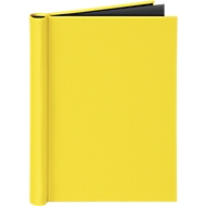 Klemmbinder VELOCOLOR®, für Formate DIN A4, mit Klemmfeder, max. 150 Blatt, gelb