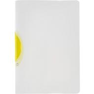 Klemmhefter Kolma Easy Plus Ergo, A4, KolmaFlex, transparent, gelb