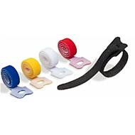 Klett-Kabelbinder CAVOLINE® GRIP TIE, 5er-Paket, B10xT200 mm, farbsortiert