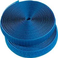 Klettband, blau
