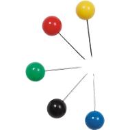 Knopspelden, groot, in diverse kleuren