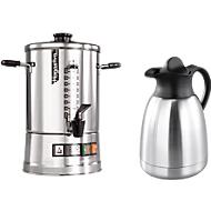Koffiemachine Hogastra® CNS 50 + thermoskan, gratis