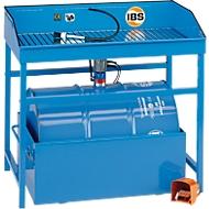 Kombination Teilereinigungsgerät Typ M, Spezialreiniger, Auffangwanne