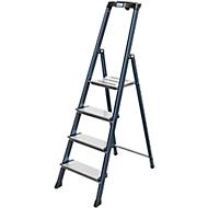 Komfortstufen-Stehleiter Securo, 4 Stufen