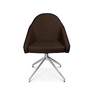 Konferenzsessel Topstar Sitness 5.0, 3D-Sitzfläche, sitzhöhenverstellbar, drehbar, mokka