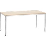 Konferenztisch, 1600 x 800 mm, Ahorn-Dekor