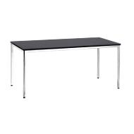 Konferenztisch, 1600 x 800 mm, schwarz