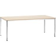 Konferenztisch, 2000 x 800 mm, Ahorn-Dekor
