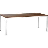 Konferenztisch, 2000 x 800 mm, Nussbaum-Dekor