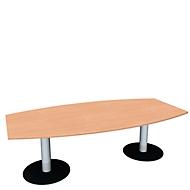 Konferenztisch, B 2400 mm, Buche