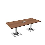 Konferenztisch Quandos, B 2200 x T 1000 mm, Kirsche-Romana