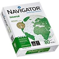 Kopieerpapier Navigator Universal, DIN A4, 80 g/m², hoog wit, 1 doosje = 10 x 500 vellen