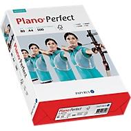 Kopieerpapier Papyrus Plano® Perfect, A4, 80 g/m², helderwit, 1 doos = 5 x 500 vellen