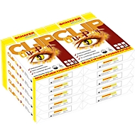 Kopieerpapier Schäfer Shop CLIP OutPut, A4, 80 g/m², zuiver wit, 1 doos = 10 x 500 vellen