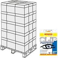 Kopieerpapier Schäfer Shop CLIP Paper@Print, A4, 80 g/m², wit, 1 pallet = 200 x 500 vellen
