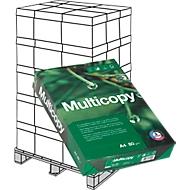 Kopierpapier MultiCopy, DIN A4, 80 g/m², weiß, 1 Palette = 200 x 500 Blatt