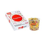 Kopierpapier Navigator Superior, DIN A4, 80 g/m², hochweiß, 1 Karton = 10 x 500 Blatt + GRATIS 1 Box Haribo Goldbären