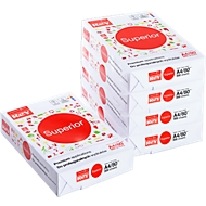 Kopierpapier REY Superior, DIN A4, 80 g/m², 1 Karton = 10 x 500 Blatt